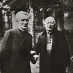 """Monseigneur Pierre-Marie Théas et Bruno de Solages, """"le recteur magnifique"""""""