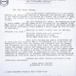 Lettre de Monseigneur Jules-Géraud Saliège, évèque de Toulouse