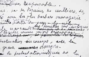 Détail de la lettre de Monseigneur Théas