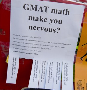 GMAT make you nervous, Isabelle Gabrieli, Columbia, New York
