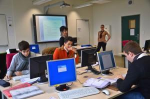Lycée Théas - Les salles de comptabilité - Photo : Isabelle GABRIELI