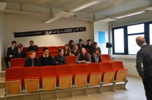 Lycée Théas - Amphi de vente - Photo : isabelle GABRIELI