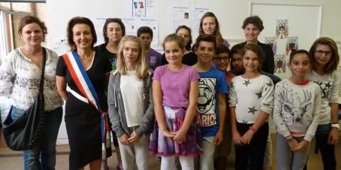 Conseil municipal des jeunes 2014 Montauban Institut familial