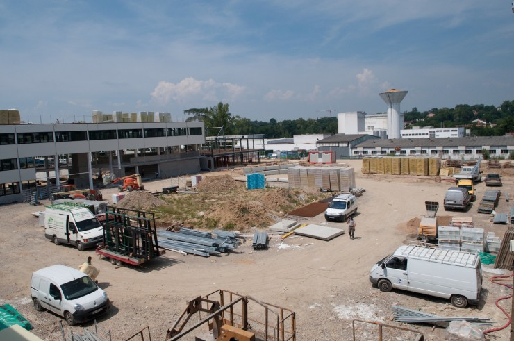 Construction et chantier du lycée Pierre-Marie Théas