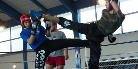 UNSS boxe française Théas